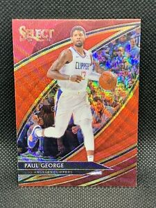 2019-Panini-Select-Paul-George-Red-Wave-Courtside-Tmall-HOT