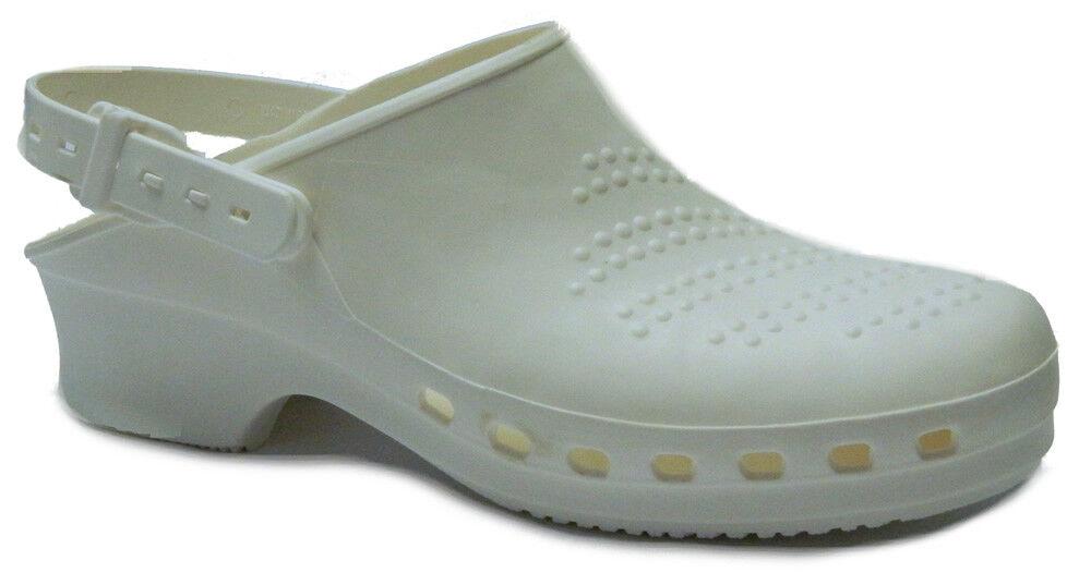 shopping online e negozio di moda Toffeln Toffeln Toffeln Steri Klog 058-BIANCO-Lavabile Scarpe Lavoro  profitto zero