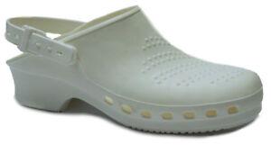 Toffeln Steri Klog 058-blanc-lavable Travail Chaussures-afficher Le Titre D'origine Haute RéSilience