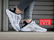 buy popular 3f24a ae5e3 BNIB New Women Nike Air Huarache Run Ultra White Black Turquoise Size 4 5 6  7