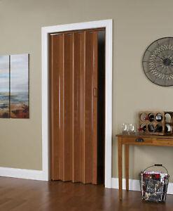 Folding-Door-48-034-W-x-80-034-H-Scratch-Resistant-Double-Wall-Vinyl-Accordion-Doors