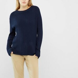 sneakers for cheap d6f85 a2cfd Details about Vero Moda - Navy Pullover Sweater, Medium, Brand New