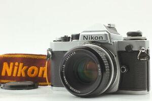 [Near MINT] Nikon FE 35mm SLR Film Camera + Ai 50mm f/1.8 Lens + strap JAPAN