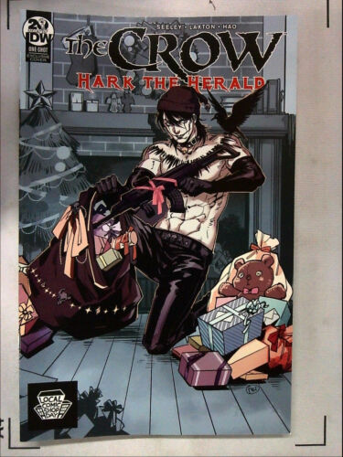 LOCAL COMIC SHOP DAY 2019 CROW HARK THE HERALD #1 SEELEY VARIANT