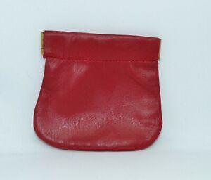 Borsellino classico portamonete spiccioli monetine donna da borsa bianco blu