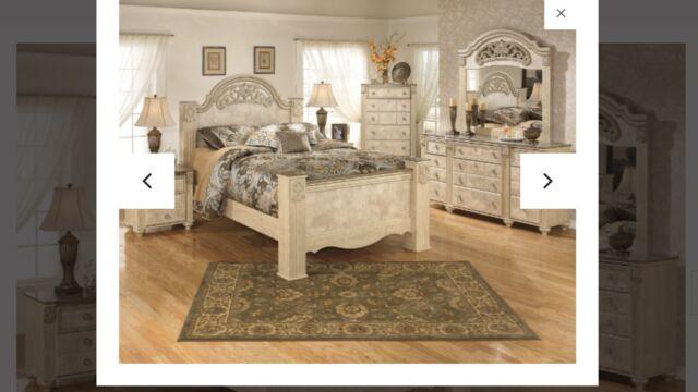Ashley Martini Suite Queen Bedroom Set By Ashley Signature Design