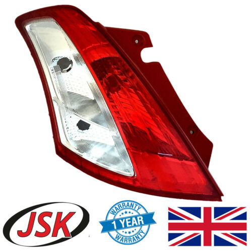 Rear Light Passenger Side for Suzuki Swift 2010-2017 Left Hand Tail Lamp