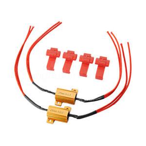2x-25W-Resistance-Clignotant-LED-Anti-Erreur-Trop-Rapide-P21W-W21W-W21-5W-PY21W