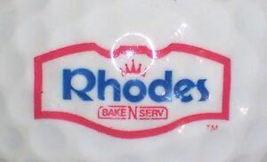 (1) Rhodes Banque N Serv Logo Balle De Golf-afficher Le Titre D'origine Le Prix Reste Stable