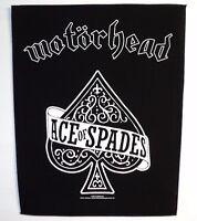 Motorhead Ace Of Spades Back Patch