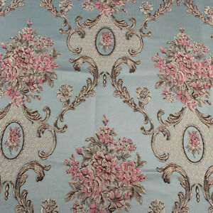Classic Flower Brocade Fabric Damask Jacquard Garments Upholstery Fabric by yard