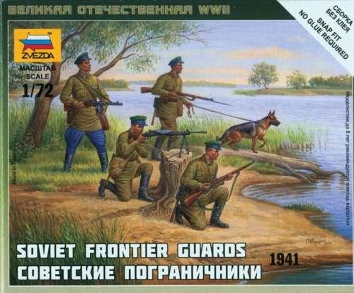 Zvezda Soviet frontier guars 1941-1:72