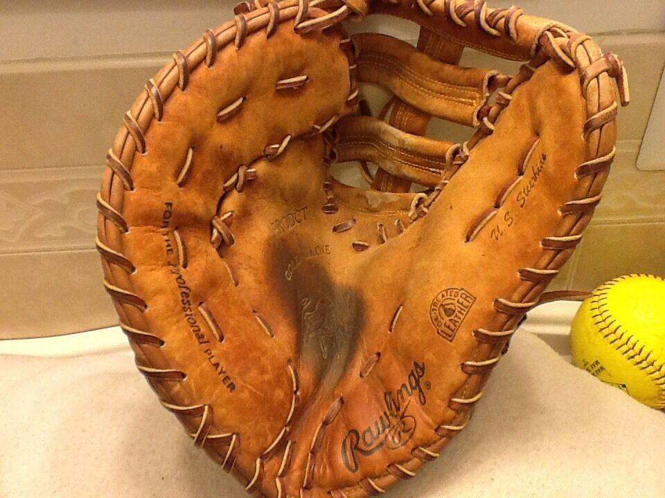 Rawlings Prodct 13  Hoh béisbol Softbol First Base Mitt lanzamiento Mano Izquierda