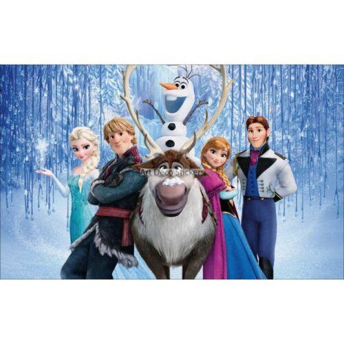 Stickers autocollant Frozen La reine des neiges réf 15200 15200