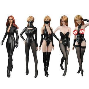 1:6 KUMIK KMF029 Catwoman CG CY Girl Female Body Black