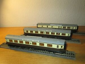 Airfix Oo Gauge Rake Of 3 G.w.r. Centenary Coaches