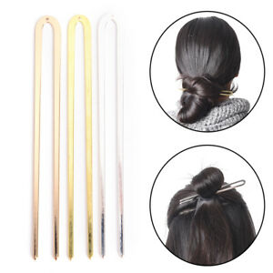 Bronze-Vintage-Hair-Sticks-Alloy-Hairpins-Hair-Clip-Original-Retro-For-Women-Tk