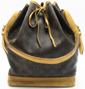 LOUIS-VUITTON-SAC-NOE-SCHULTERTASCHE-SHOULDER-BAG-BEUTELTASCHE-TASCHE-PATINA-1