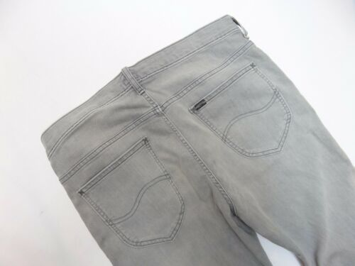 Seconds MENS Lee DAREN Grey SLIM Straight Stretch Jeans RRP£85 L154
