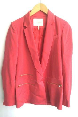 Maje Hot Pink Blazer Size 6