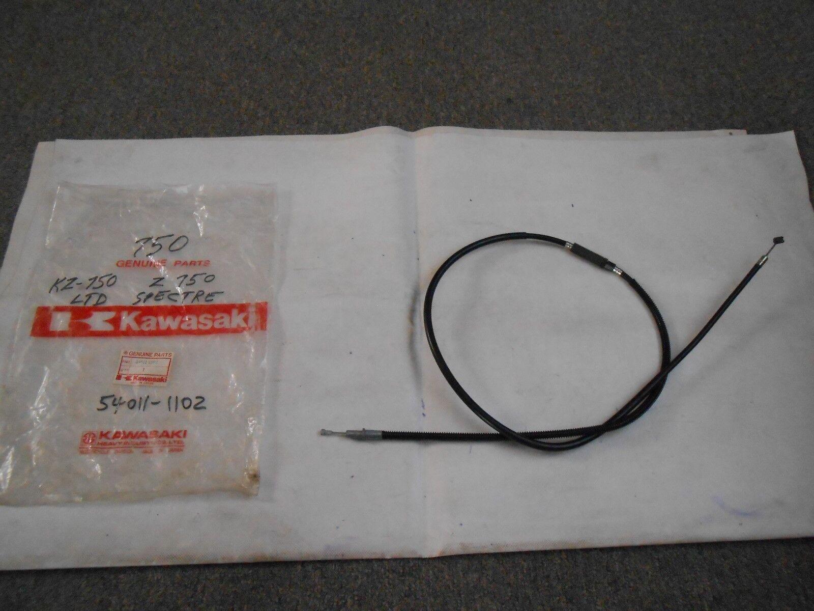 NOS New OEM Kawasaki Clutch Cable  1983  KZ750 KZ750-K1 LTD Belt   54011-1115