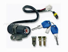 Ignition Switch Lock Set + Keys to fit Gilera DNA 50 125 180 GP Experience