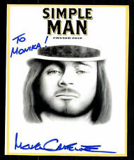 Simple Man Autogrammkarte Original Signiert ## BC 38916