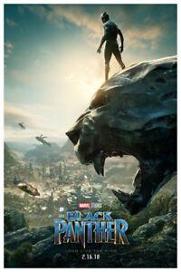 Black Panther 2 Movie Poster 12 X 18 Ebay