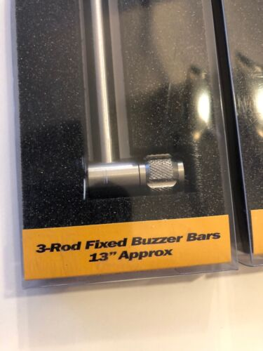 SOLAR TACKLE P1  3 ROD FIXED LENGTH BUZZ BARS ALL SIZES