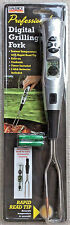 Digital Grilling Fork / Thermometer with Timer for BBQ - NEW w/ batteries
