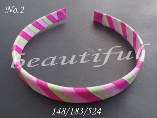Woven Headband 5 Style 196 No. 100 BLESSING Good Girl Fashion Handicraft B