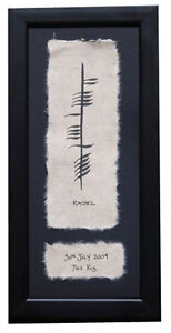 Irish-Made-Single-Ogham-Oghams-Baby-Personalised-Name-Date-Weight-Ireland-New