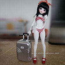 "1/6 1/4 BJD Dollfie Momoko Blythe 18"" American Girl Doll Luggage Travel Suitcase"
