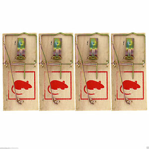 4x-Traditional-Wooden-Mouse-Traps-Classic-Mice-Rat-Pet-Rodent-Control-Catch-Trap