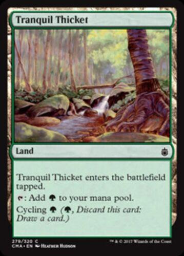 NM//M Commander Anthology MTG Magic - C Tranquil Thicket