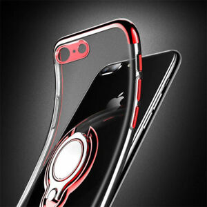 Case-for-All-iPhone-e-XR-XS-MAX-XS-Magnetic-Shockproof-Ring-Holder-Clear-Cover