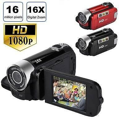 Digital Video Camcorder 1080P 2.7 Inches TFT LCD Screen 16X Zoom Camera Recorder