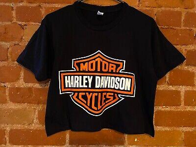 Harley Davidson Tee cropped