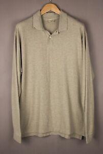 L.L.Bean Herren Freizeit Polohemd Sweatshirt Pullover Größe L ATZ40