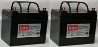 (two) 12v 35ah Sla Replacement Battery Replacement For Power Patrol Sla1156