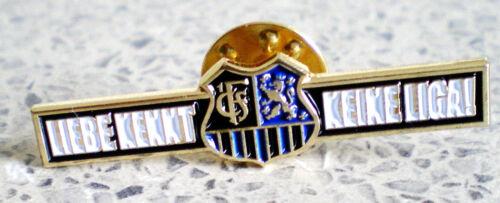 1.FC SAARBRÜCKEN-MEISTER RL SW 17//18-GLÜCKWUNSCH-PIN-LIEBE KENNT KEINE LIGA-408