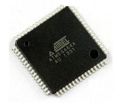 1PCS ATMEGA64A-AU ATMEGA64A IC MCU 8BIT 64KB FLASH 64TQFP