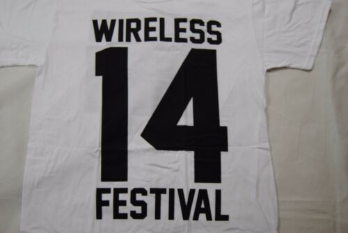 WIRELESS FESTIVAL 2014 LONDON T SHIRT NEW OFFICIAL KANYE WEST BRUNO MARS J.COLE