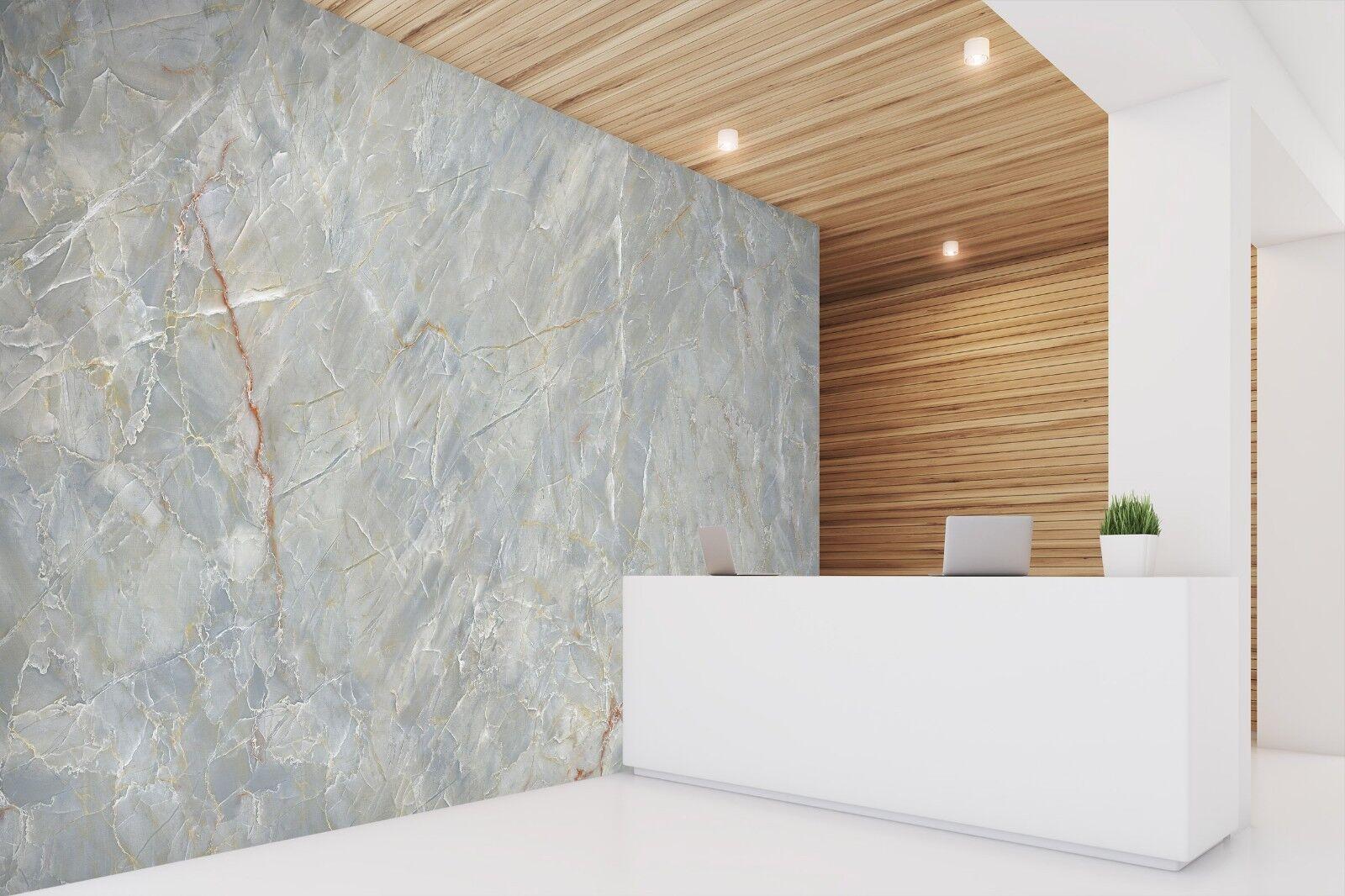 3D Einfach Grau Marmor 2 Textur Fliesen Marmor Tapete Abziehbild Tapete Wandbild