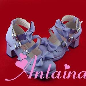 finest selection d011a 26eb5 lila purple lolita Shoes Schuhe violet Stöckel tea time ...