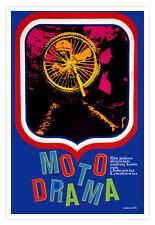 "Cuban movie Poster 4 film""MOTOCROSS""Motorcycle Sports.Dirt Bike Champion"