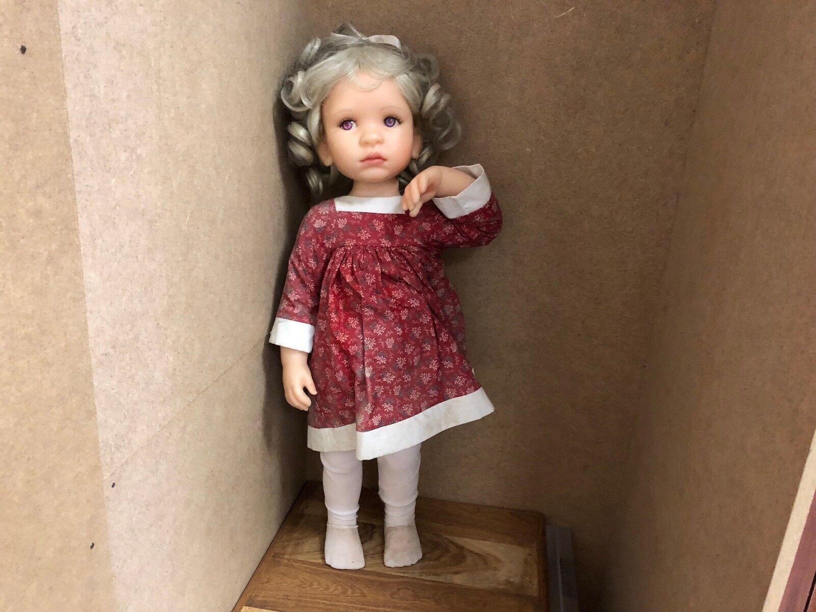 Pamela Erff Resin Puppe 50 cm. Top Zustand