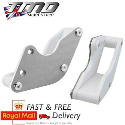 Silver CNC Alloy Chain Guard Guide Runner Pit Bike Pitbike Motorcycle Aluminium