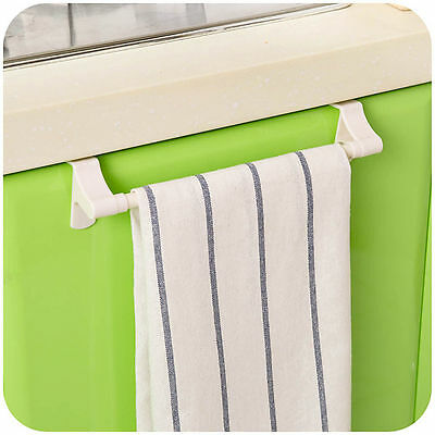 Bathroom Towel Hanging Holder Rack Stroage Kitchen Rail Rack Bar Organizer