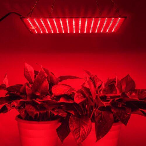 45W LED Grow Light Indoor Growing 225 Panel AC85-265V 60Hz Ultrathin Red 46V